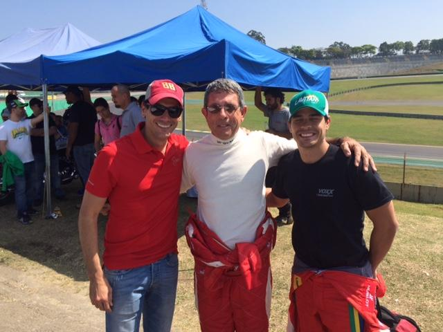 Beto Monteiro, Zé Bala e Marcos Gomes
